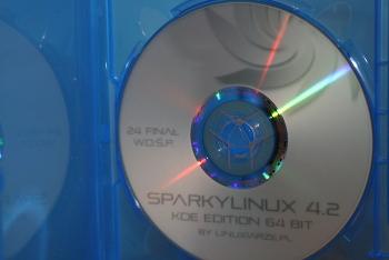 SparkyLinux DVD WOŚP